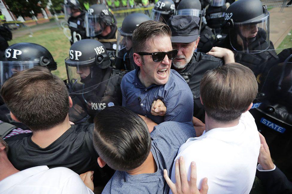 Robert Spencer in Charlottesville (August 2017)
