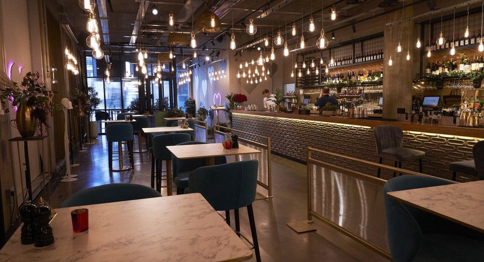 The new First Dates restaurant in Manchester