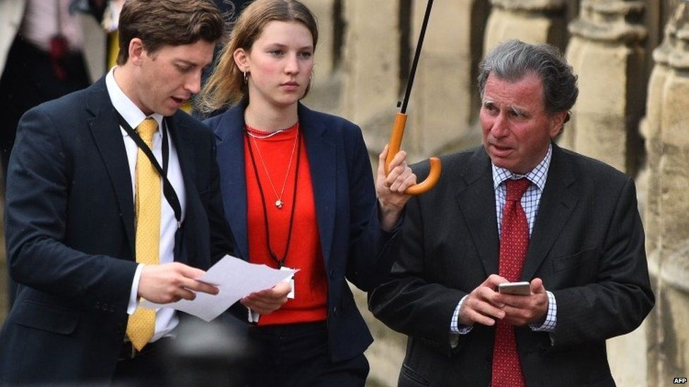 Sir Oliver Letwin and parliamentary aides