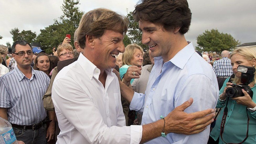 Stephen Bronfman (left) is a key aide of Justin Trudeau
