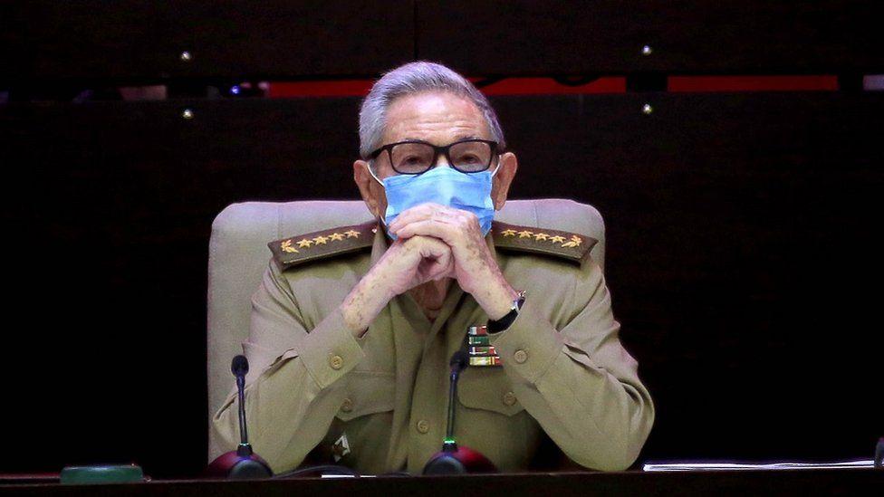 Raúl Castro at the Communist Party congress