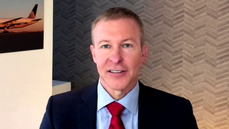United Airlines CEO Scott Kirby