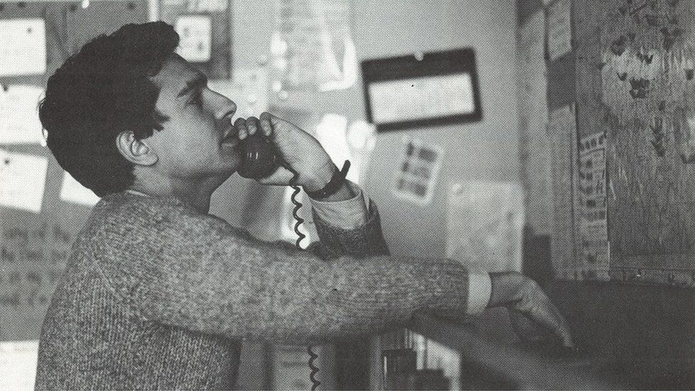 Switchboard phone volunteer