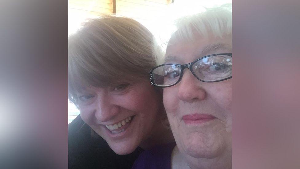 Louisa Brewster and Patricia Pelham
