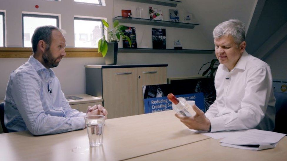 John Timothy, The Portman Group CEO and Adrian Chiles