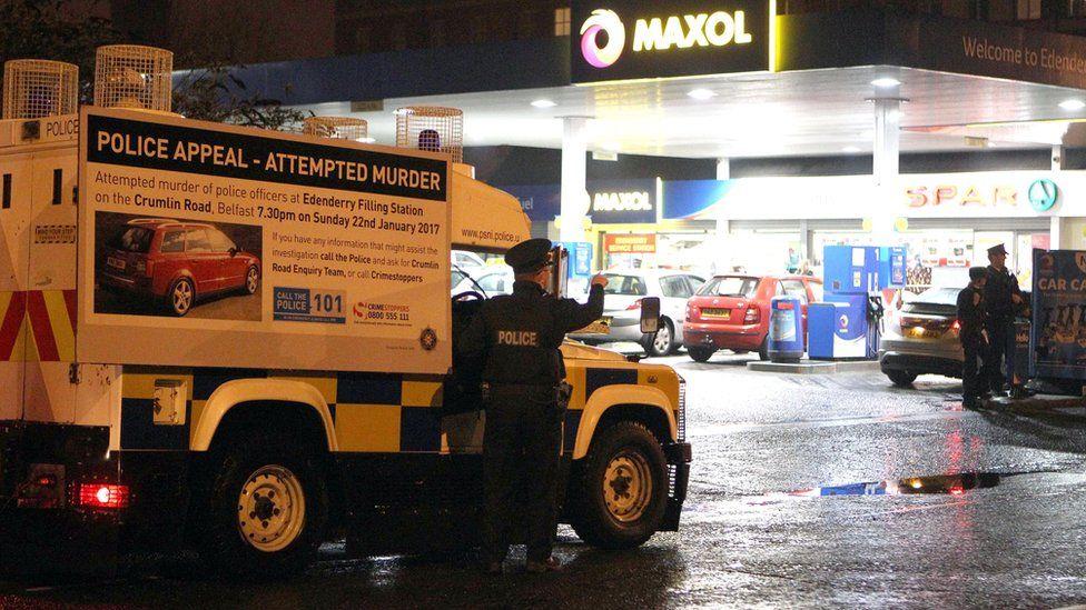 Police revisit scene
