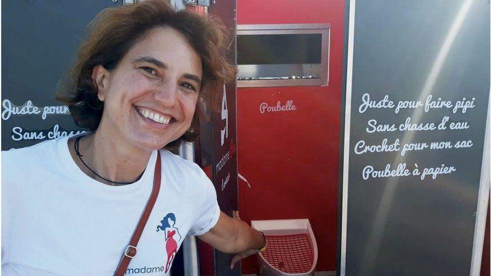 Nathalie Des Isnards founder of madamePee