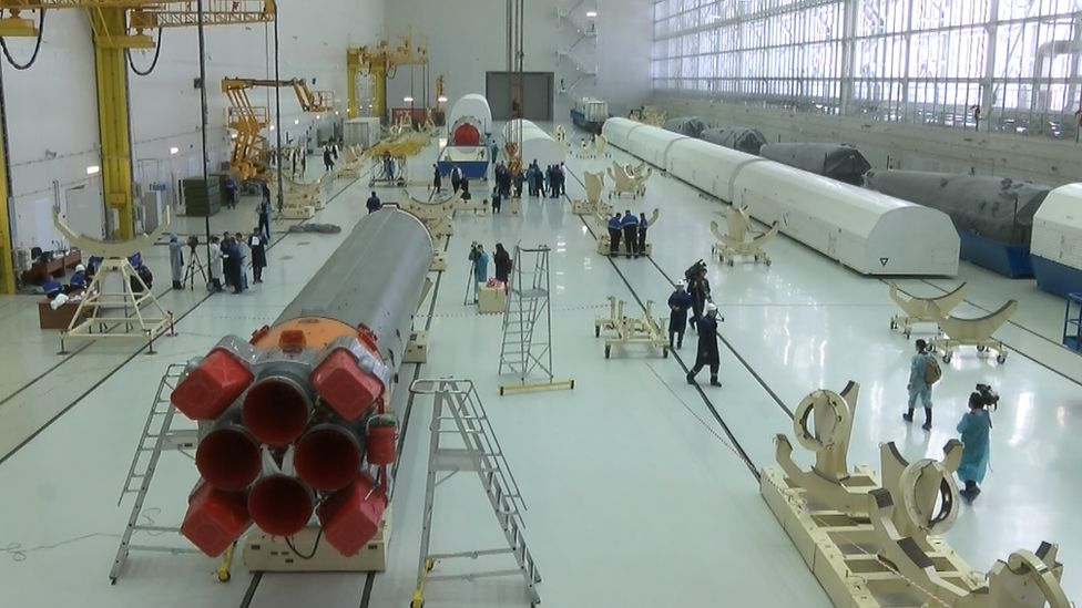 Rockets being assembled at Vostochny