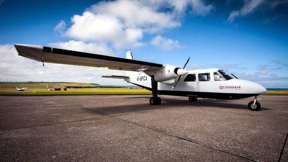 Loganair Islander