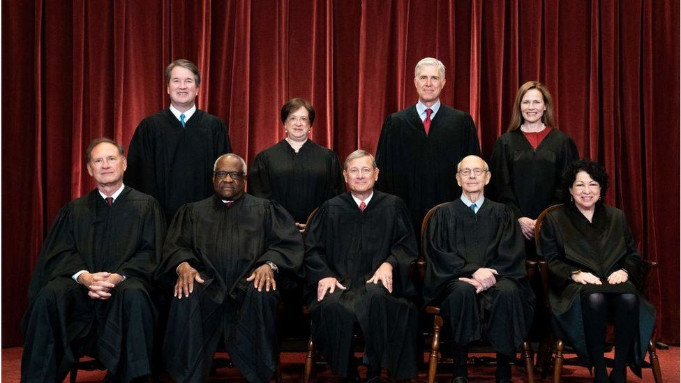 Abortion, gun control, death penalty: How this US Supreme Court could  change America - BBC News