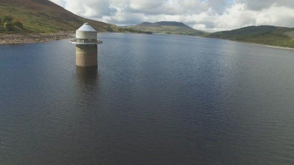 Tryweryn reservoir