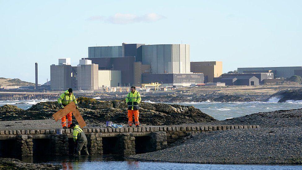 The Wylfa Nuclear Power Station