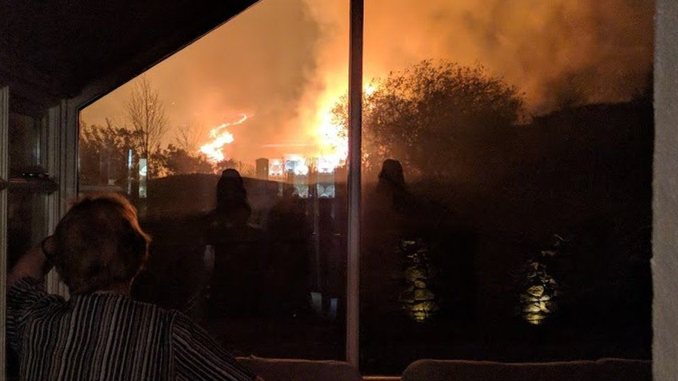 Wildfire breaks out in Mourne Mountains