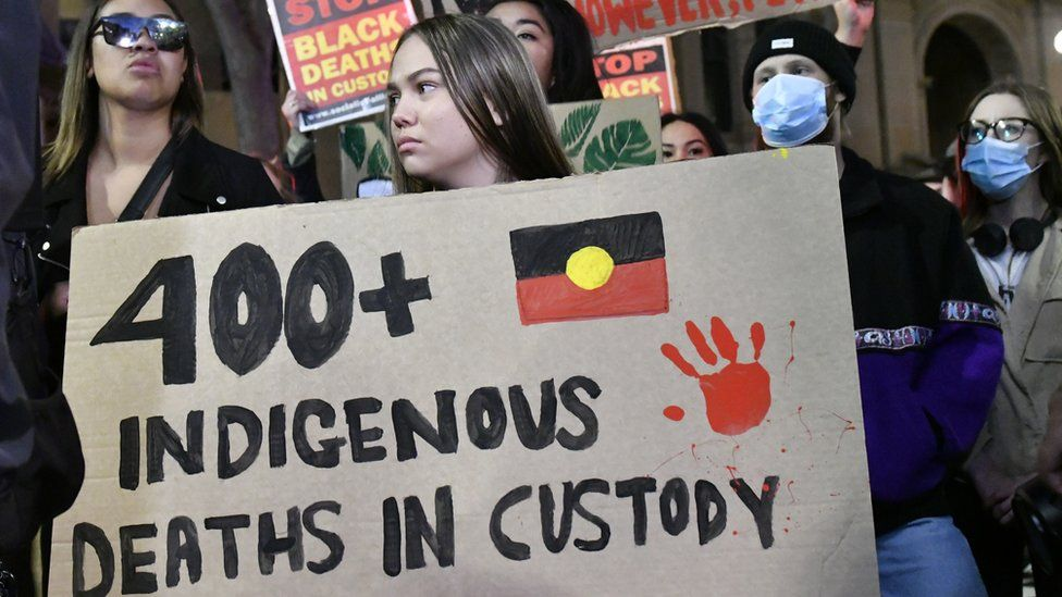 Australia's protests have focused on police treatment of Aboriginal people
