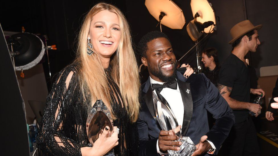 Blake Lively and Kevin Hart