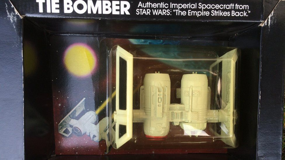 Rare Star Wars Tie Bomber toy found in Coalville loft