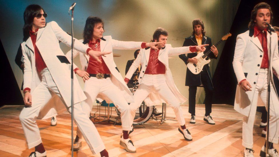 Showaddywaddy on Top of the Pops