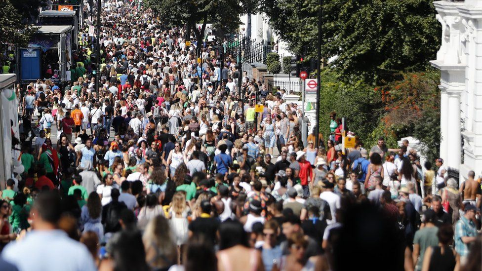 Thousands have attended the carnival