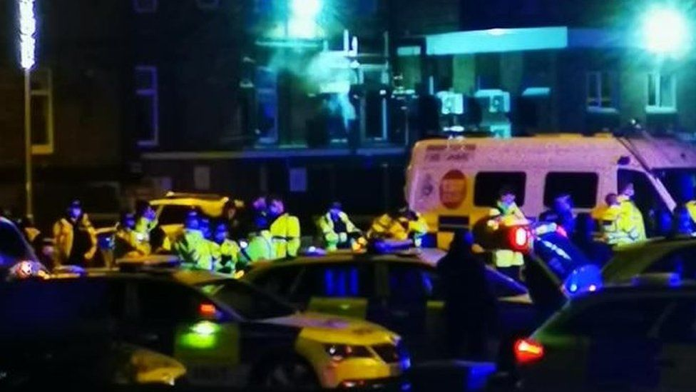 Great Yarmouth Seafront Closed As Vigil Breaches Covid Rules Bbc News