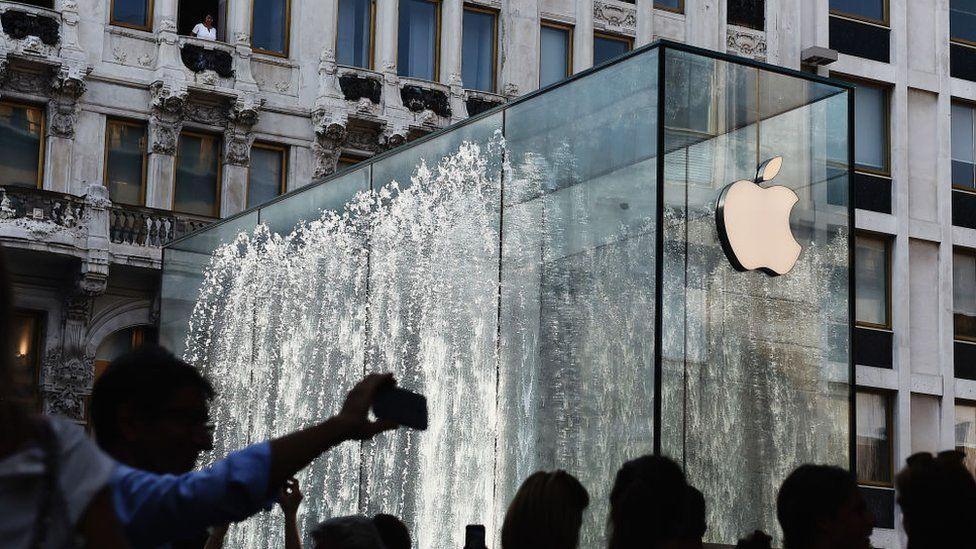 Apple store in Milan