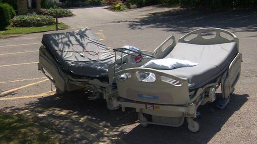 Fire damages St Michael's Hospice