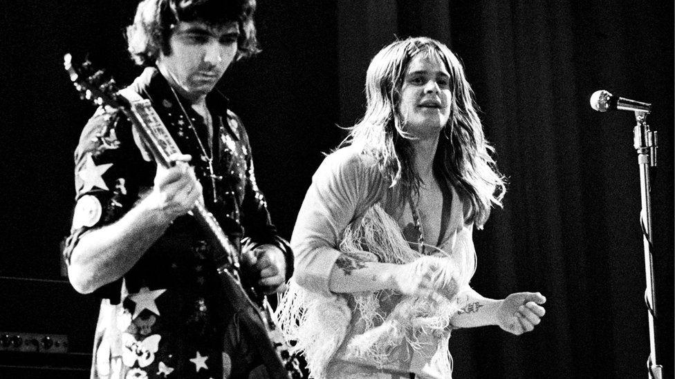 Iommi and Osbourne