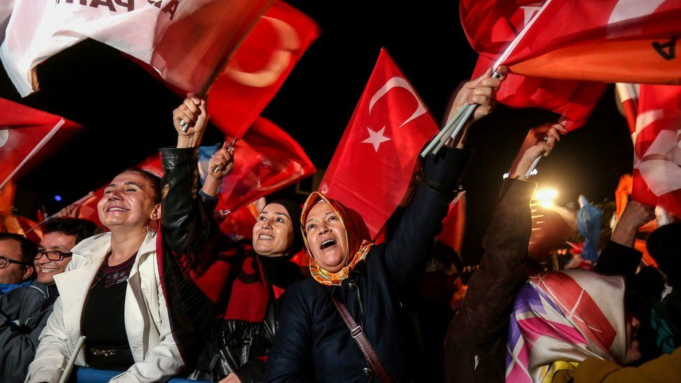 AKP supporters