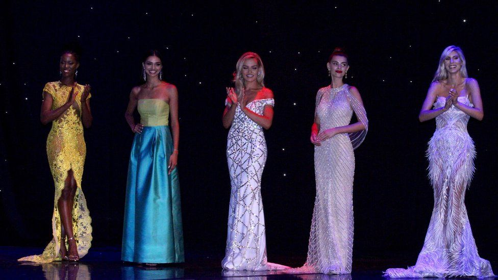 The Miss Universe Great Britain competitors