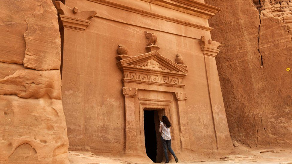 Madain Saleh, a UNESCO World Heritage site