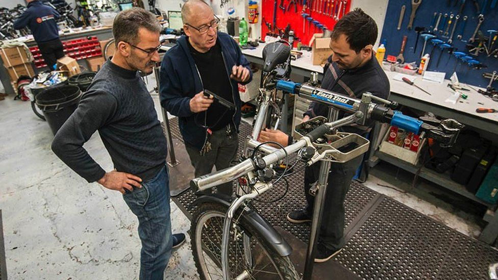 The Build a Bike workshop