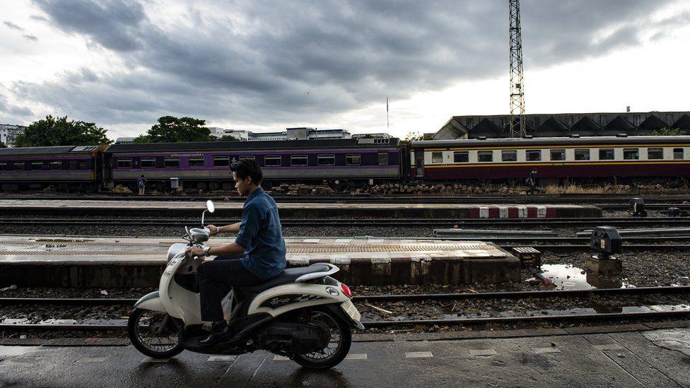 File photo of train station in Bangkok