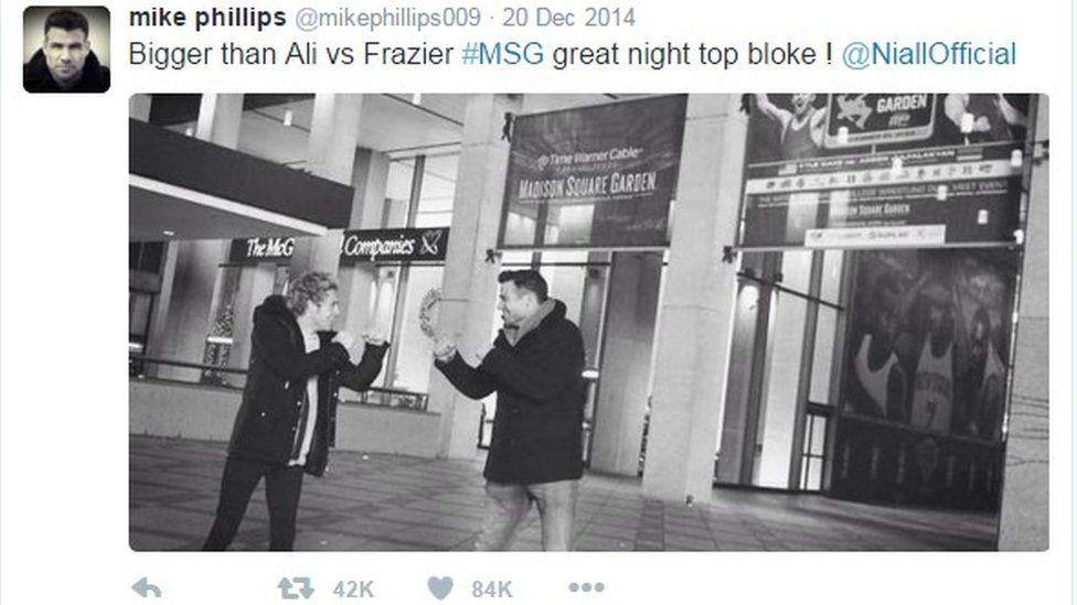 Tweet Mike Phillips