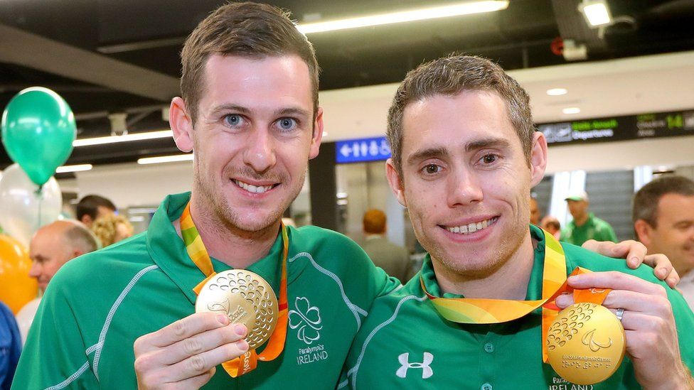 Paralympic stars Michael McKillop and Jason Smyth will be aiming for more gold-medal success in London next month