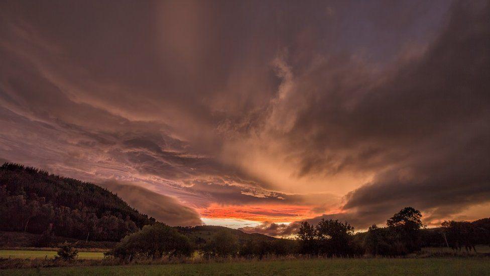 Sky from Glenkindie