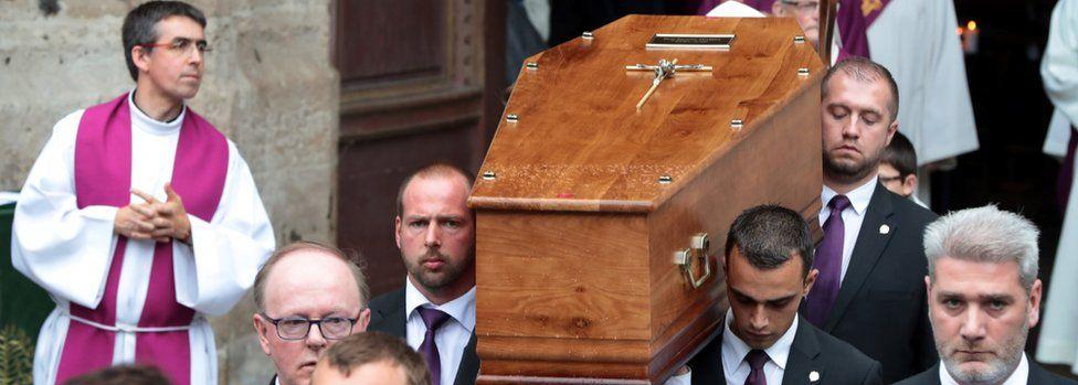 Funeral of Fr Hamel (2 August 2016)