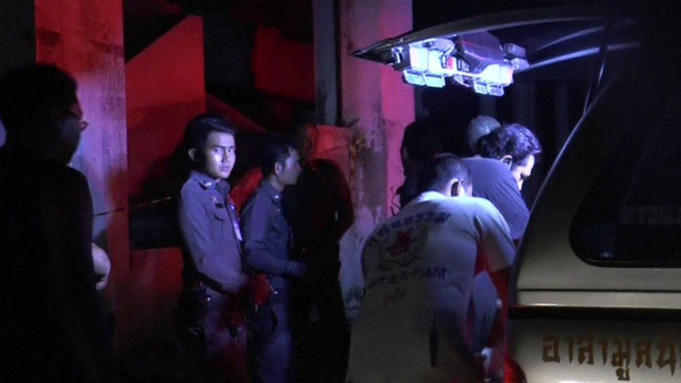 The deaths took place at a deserted hotel in Phuket