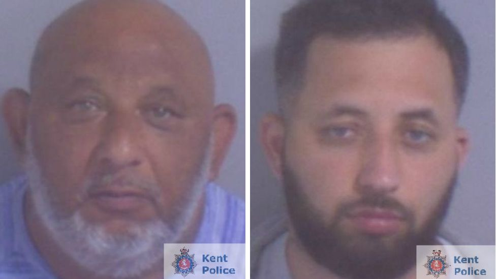 Petr Makula, 48 and his son Mario, 26, have been jailed