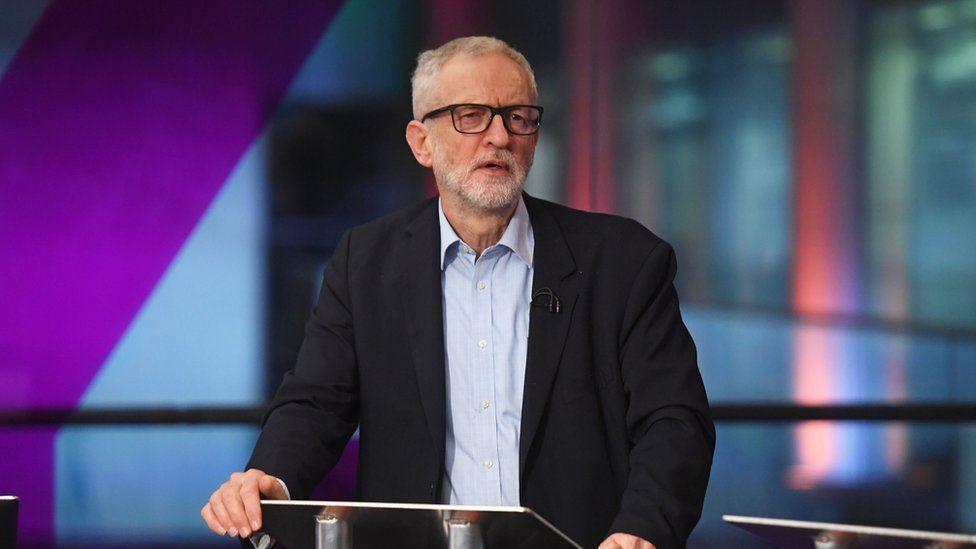 Jeremy Corbyn at climate debate