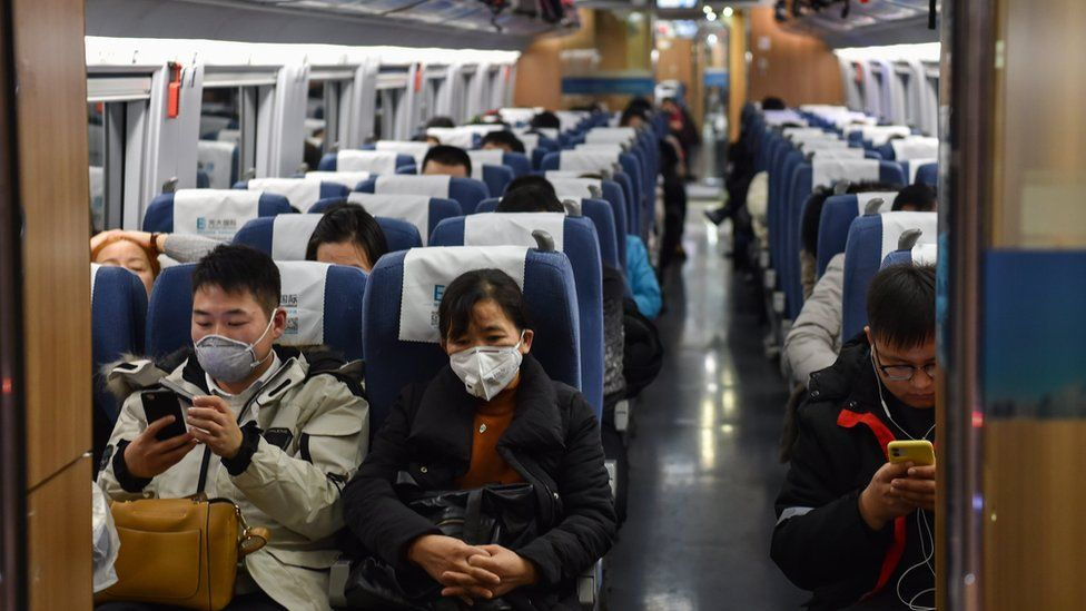 Outbound trains in Wuhan have been stopped