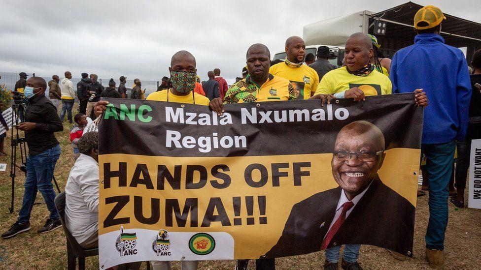 Zuma supporters