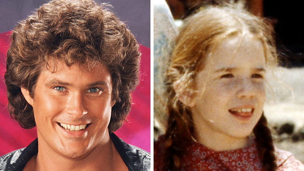 David Hasselhoff was big in the 1980s, as was The Little House on the Prairie, starring Melissa Gibert as Laura Ingalls