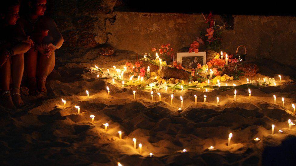 Goa candlelit vigil for Scarlett Keeling