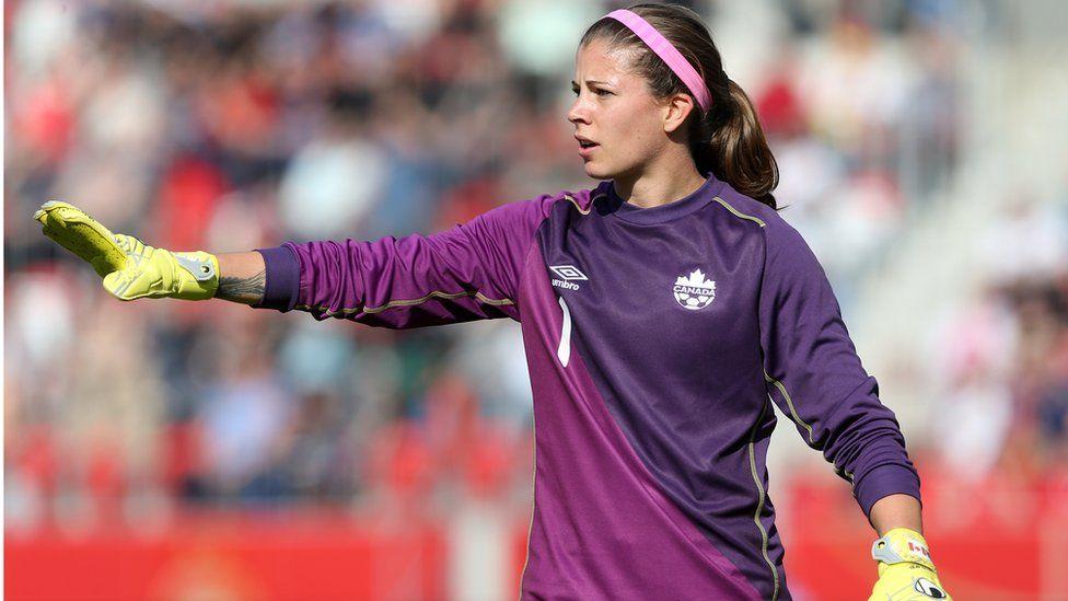 Canadian goaltender Stephanie Labbe