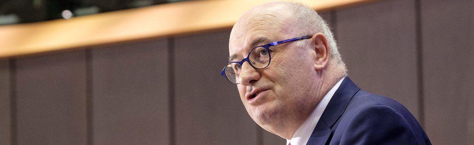 European Commissioner designate for Trade Phil Hogan at the European Parliament 30 September 2019