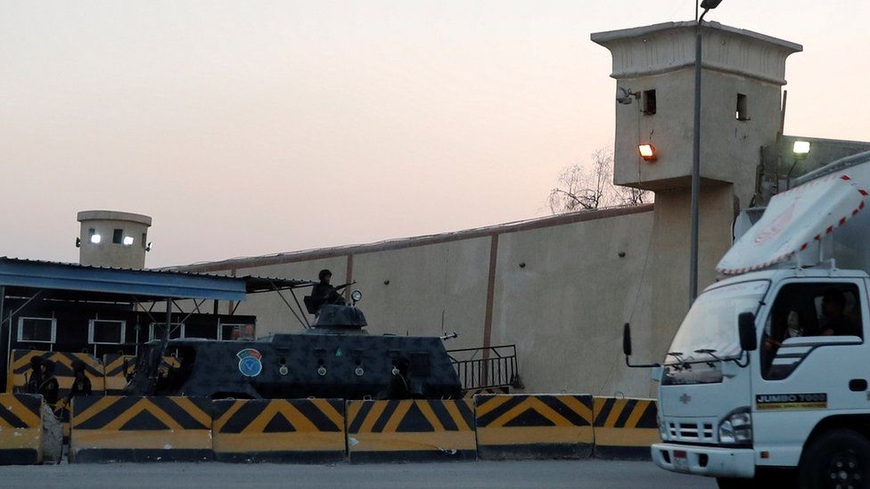 Exterior of Cairo's Tora prison (17 June 2019)