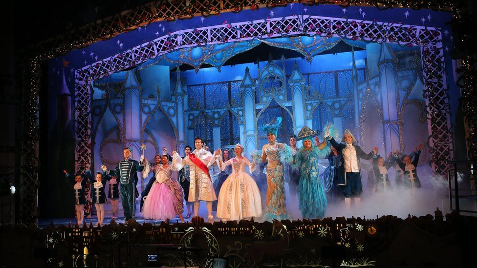 Cinderella at Sunderland Empire last year