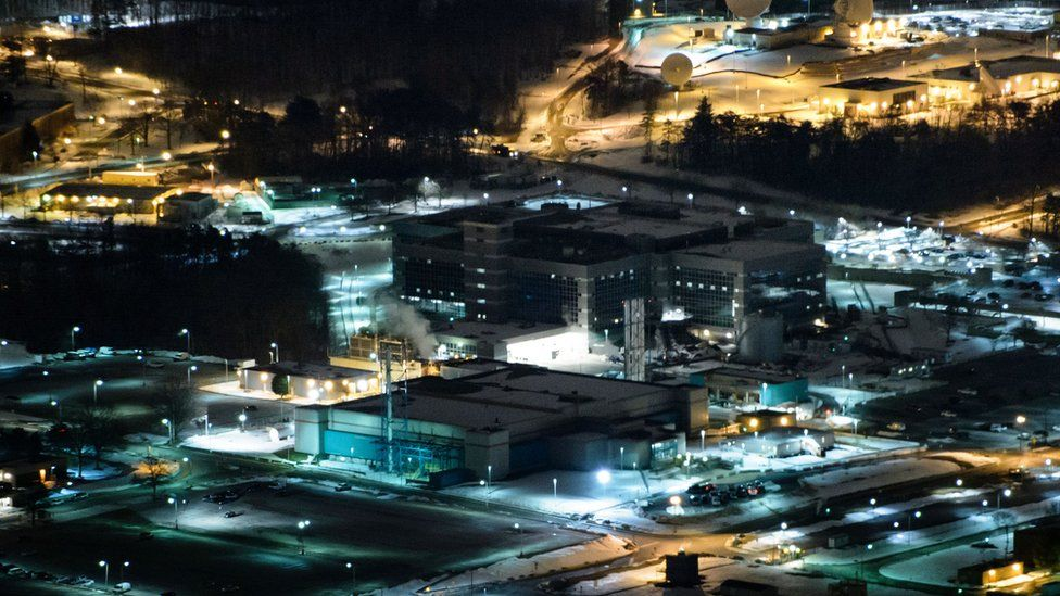 Headquarters of the NSA