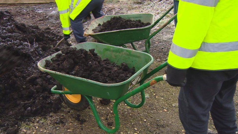 Workers on community payback orders