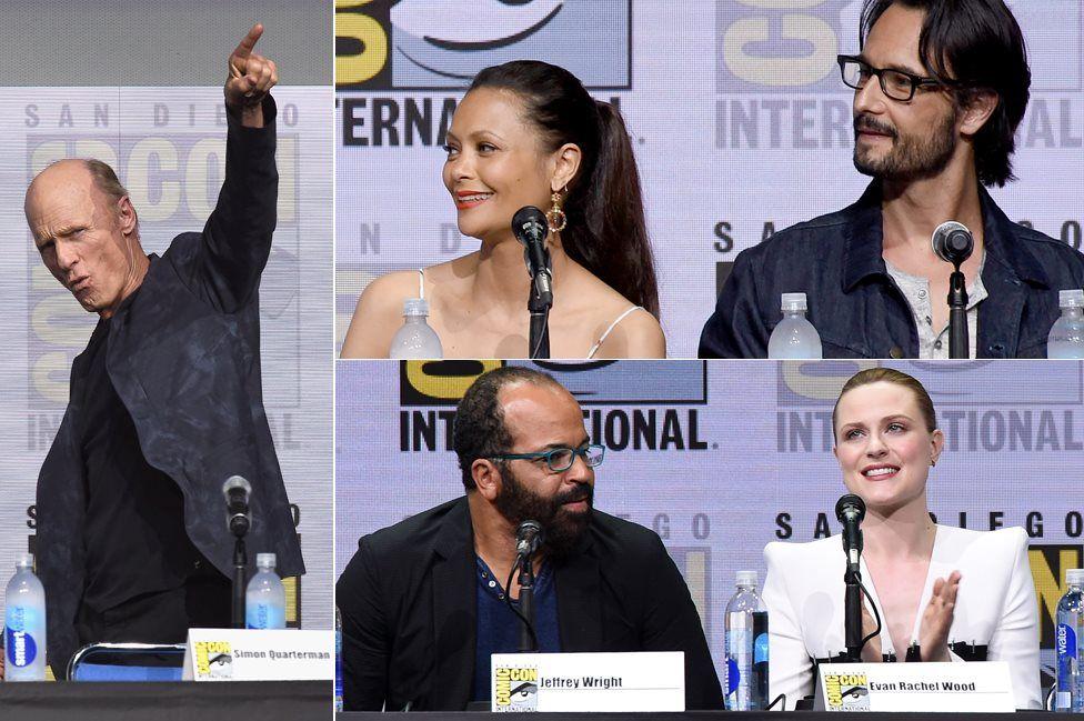 Cast of Westworld