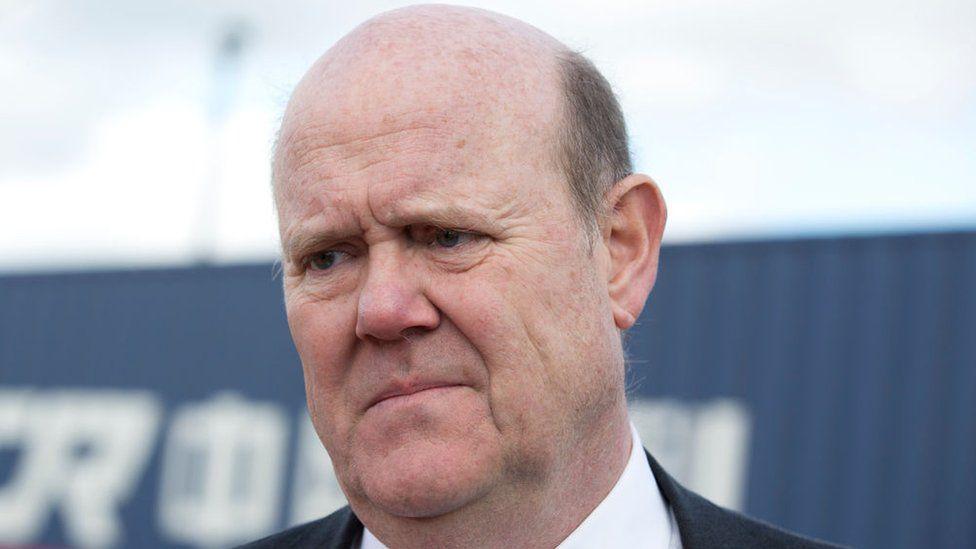 Serco chief executive Rupert Soames